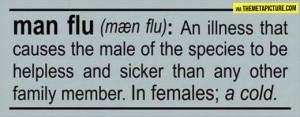 Sick Cold Quotes Man flu