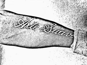 Erick Silva arm tattoo