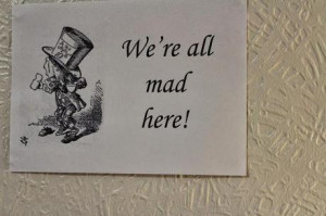Alice in Wonderland Tea Party Quotes Funny