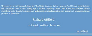 does not define a person. And I hated social injustice and inequality ...