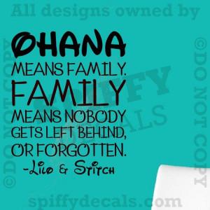 Cry Lilo And Stitch Love Ohana