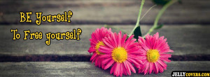 Self Motivational Quote facebook cover