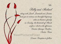 /Blended Family Invitation (only) Wedding Invitations for Blended ...