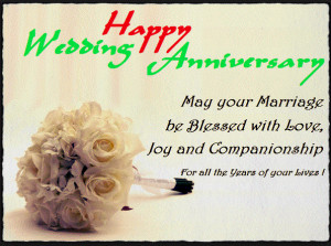 Marriage Anniversary Wishes to Brother