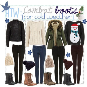 How To Wear: Combat Boots (For Cold Weather)