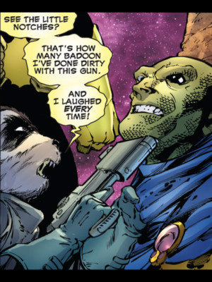 Guardians of the Galaxy Rocket Raccoon Quotes