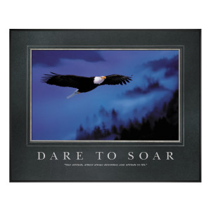 Dare to Soar Motivational Poster (734806)