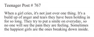anger, feelings, girl, girls, mind, personality, quote, quotes, saying ...