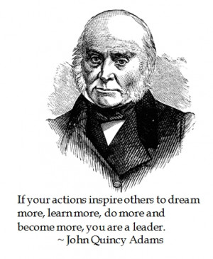 Take the John Quincy Adams Leadership Test