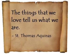 Thomas Aquinas.