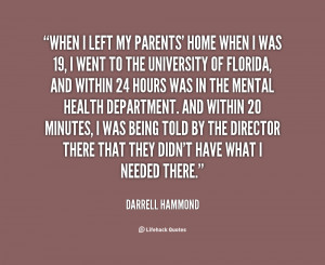 DARRELL HAMMOND QUOTES
