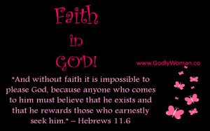 Faith In God.....