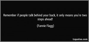 More Fannie Flagg Quotes