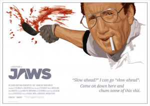 Jaws Quote Poster