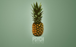 Pineapple Psych Wallpaper by EpicActress