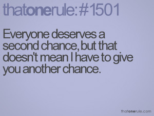 Give Me a Second Chance to Love You Quotes