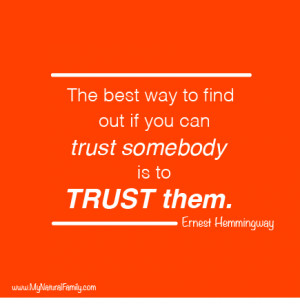 Motivational Moments: Trusting Yourself and Others