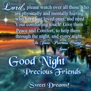 Good Night Blessings, Good Night Prayers, Daily Blessed, Night Quotes ...