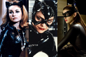 Catwoman, Julie Newmar, Michelle Pfeiffer, Halle Berry, Anne Hathaway ...