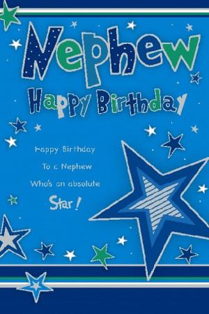 Happy Birthday Nephew Poems
