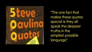 Excerpt From 500 Steve Pavlina Quotes – Compiled by Meghashyam and ...