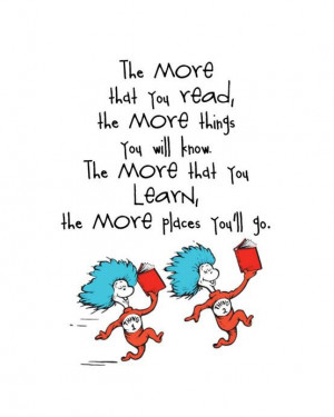 DR SEUSS QUOTE OF THE WEEK