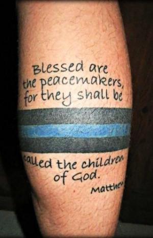 Blue Ink: Reader Police Tattoos