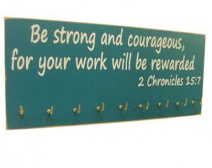 inspirational bible verse: running medals hanger ...