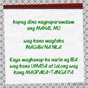 tagalog sad love quotes mahal mo nagsawa na tagalog sad love quotes