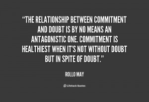 how to be more committed in a relationship