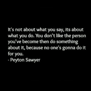 Oth One Tree Hill Quotes Quote Peyton Sawyer