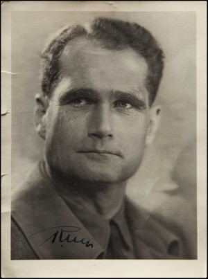 Rudolf Hess Rudolf hess - vintage i by