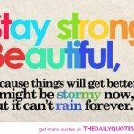 Always Stay Strong Quotes...