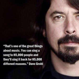 Aaah, the great thing about music.