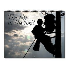 Power Lineman - Journeyman Electrician Calendar on