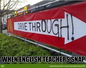 Grammar Nazi Memecenter Fun