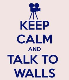 Anyone in speech and debate knows why forensics kids talk to walls!