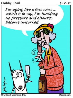 cartoons about old age maxine s witty aging quote in this maxine quote ...
