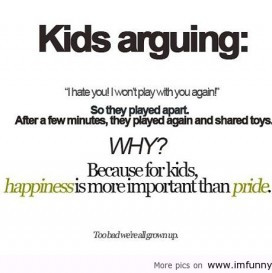 Kids Arguing I Hate You Want Play wih You Against - Funny Quote