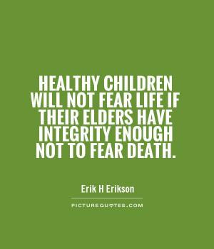 Erik H Erikson Quotes