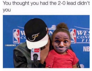 LeBron James & Steph Curry! #Cavs #Warriors - http://nbafunnymeme.com ...