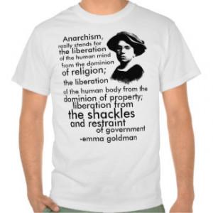 Emma Goldman quote Tee Shirt