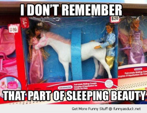 sleeping beauty toy horse rude disney funny pics pictures pic picture ...