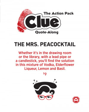 CLUE Quote-Along