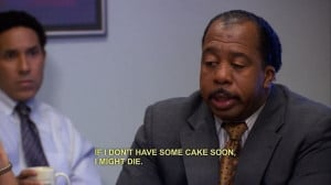 Stanley. The office. So funny