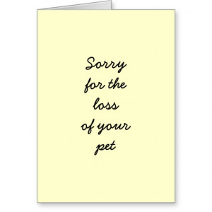Search Results for: Sorry For Your Loss Pet
