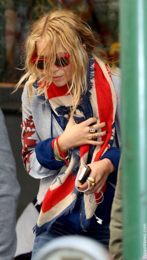 Mary Kate Olsen Talks About