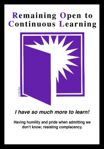 Remaining Open to Continuous Learning