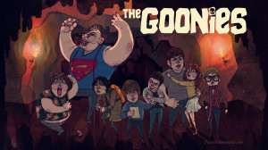 Movie - The Goonies Goonies Comedy Adventure Corey Feldman Baby Ruth ...