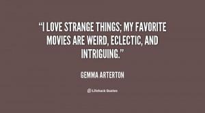 Strange Relationship Quotes